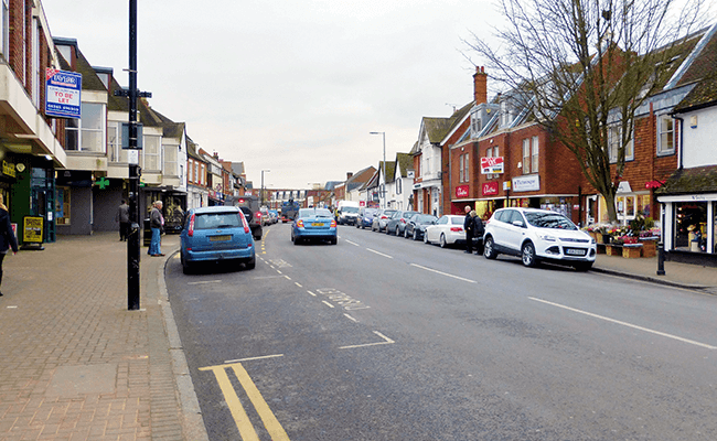 Billericay High Street, Essex